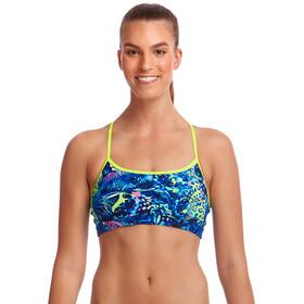 Funkita Swim Crop Top Femme, butterfly effect